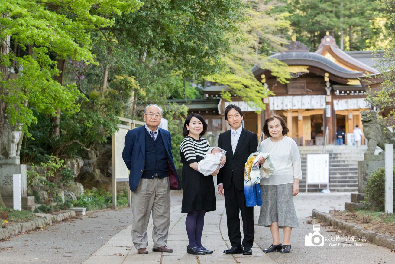 高麗神社でお宮参り