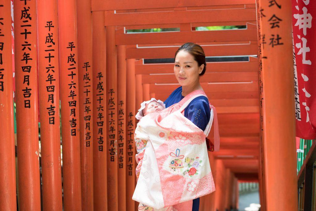 東京・赤坂 日枝神社でお宮参りの出張撮影