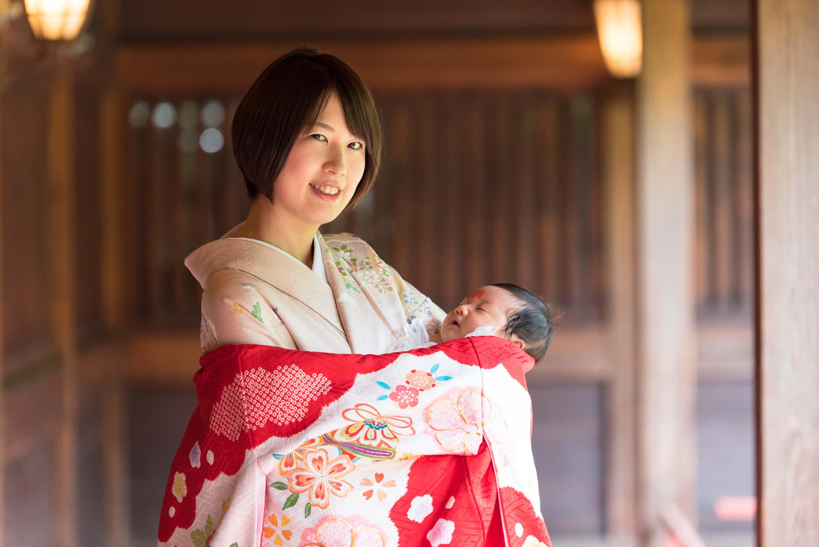 代々木八幡宮お宮参りの出張写真撮影が良い理由|東京都|渋谷区|