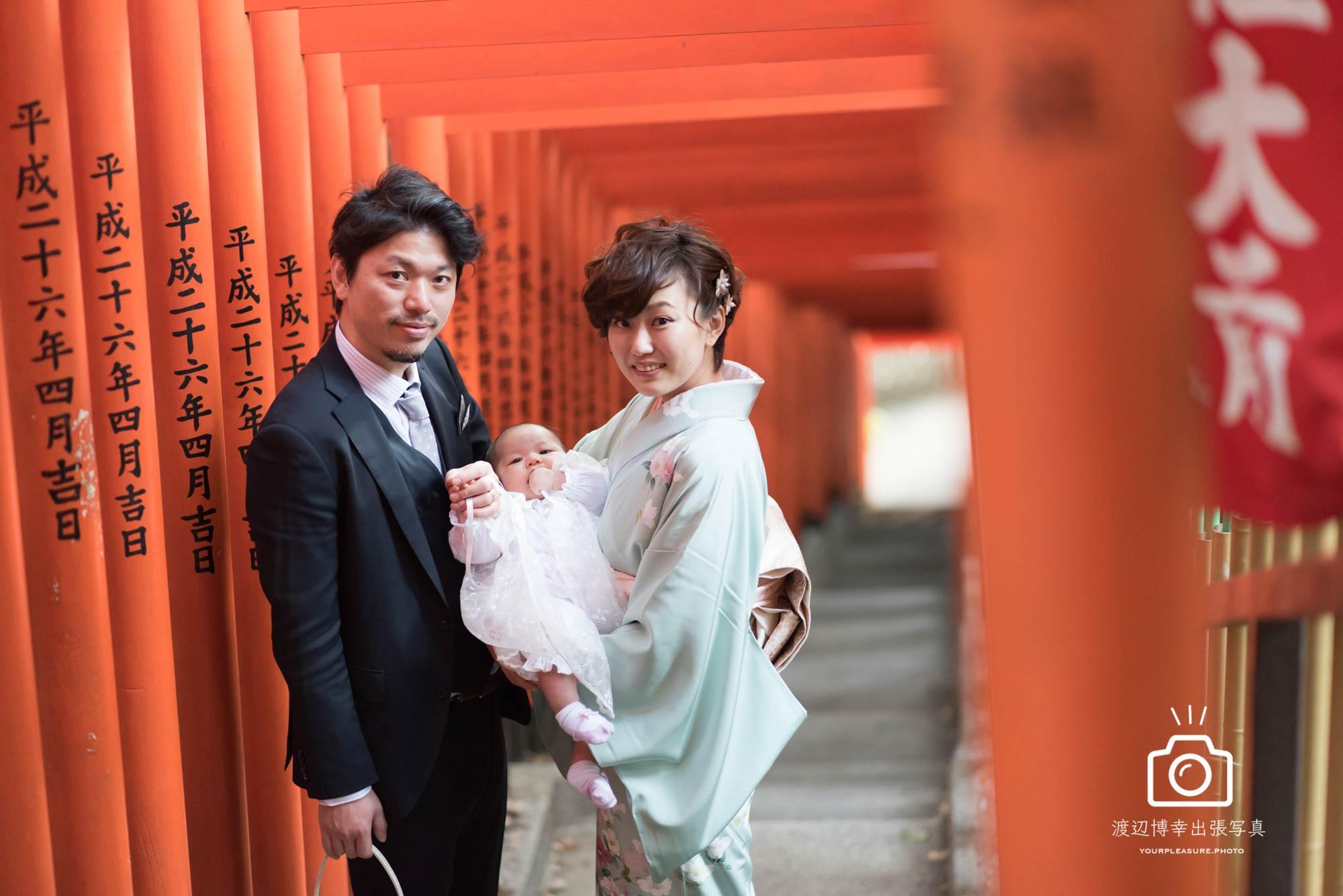 お宮参り出張撮影|赤坂・日枝神社|その日の全てを残したいから|東京都|千代田区|