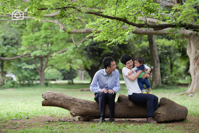 所沢 家族写真の5月