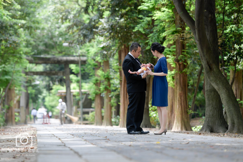 埼玉 越谷 | 久伊豆神社でお宮参りの出張撮影