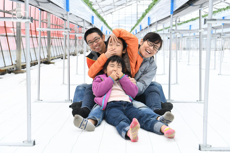 しあわせ家族の写真|新潟県|新潟市|