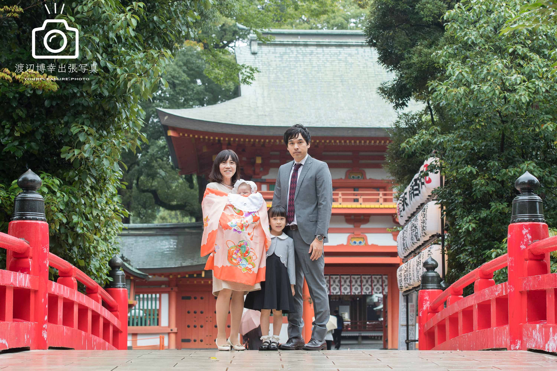 お宮参りの出張撮影|大宮氷川神社|雨は稀勢の里を呼ぶ?|埼玉県|さいたま市
