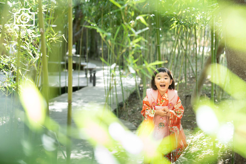 大宮氷川神社での七五三写真