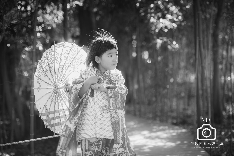 大宮氷川神社での七五三出張写真