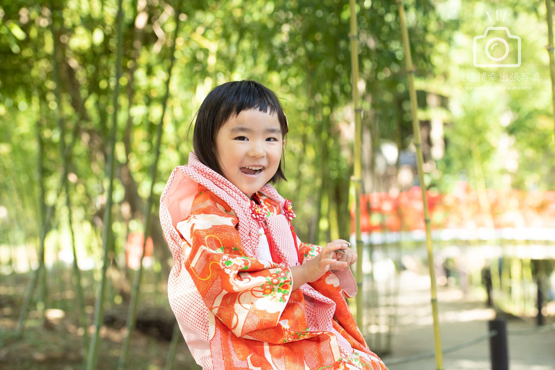 大宮氷川神社での七五三出張写真撮影