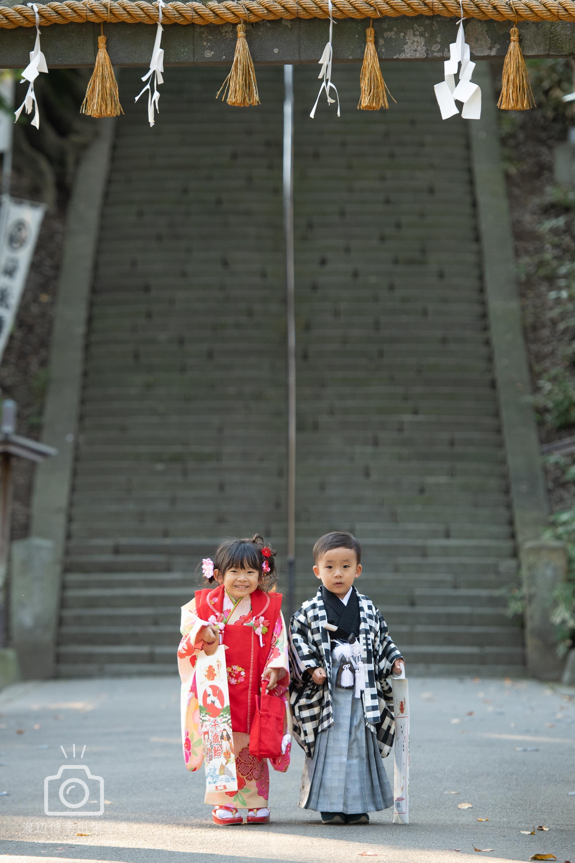 川越で出張撮影した七五三の写真