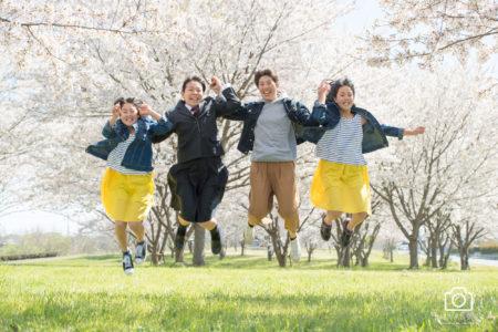 家族の写真 | 春じゃんぷ