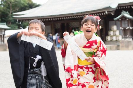 七五三の出張撮影|大宮氷川神社|また会えましたね(リピーターさんご家族)|埼玉県|さいたま市