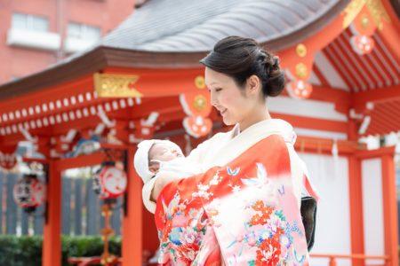 お宮参り出張撮影|水天宮|その日のすべてを|東京都|中央区