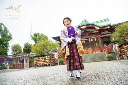 七五三の出張撮影|亀戸天神社|東京都|江東区|楽しい七五三|PHOTO-LOG - Vol.5