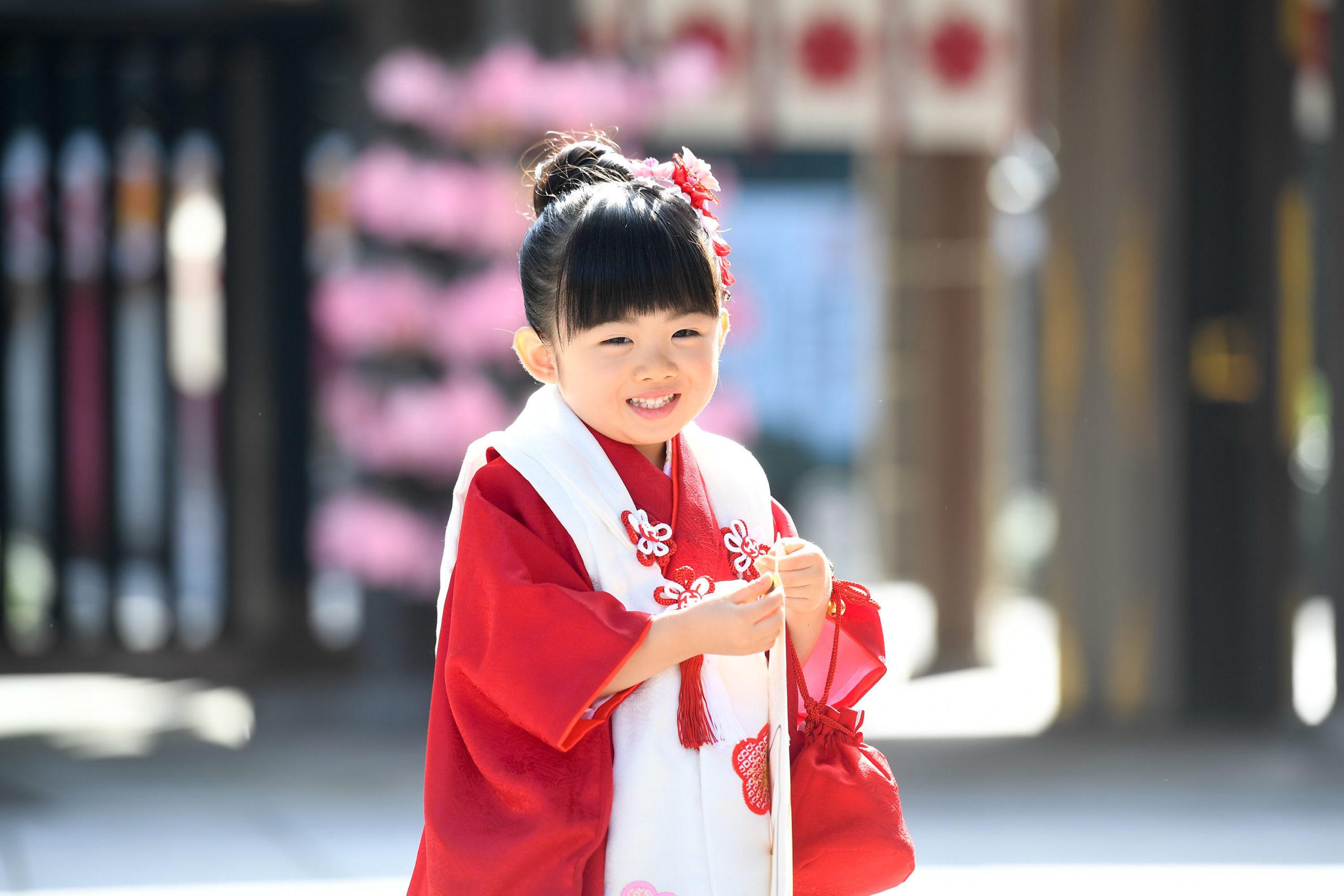 櫻木神社で七五三の出張写真撮影|千葉県|野田市