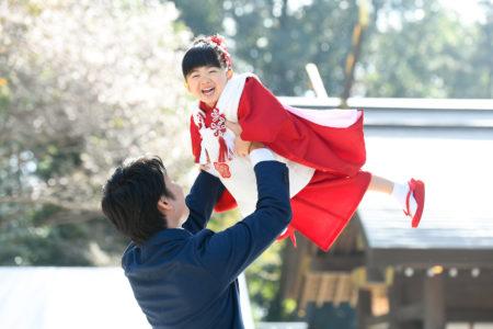 櫻木神社で七五三の写真|千葉県|野田市