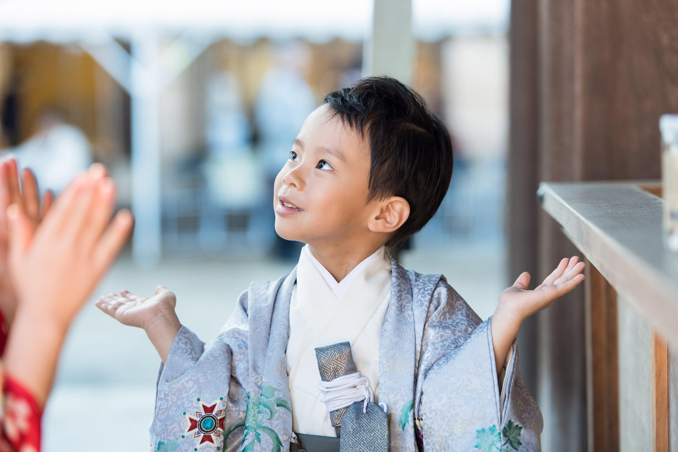 大宮氷川神社で出張撮影|仲良し2人の七五三