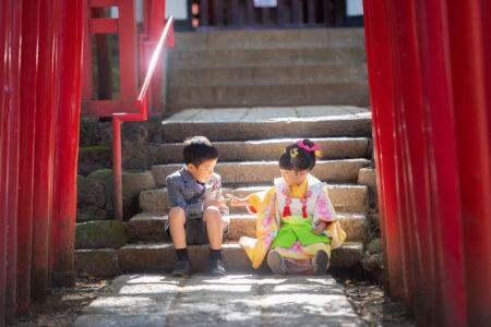 大宮氷川神社七五三の撮影|輝いてますね|4回目のリピーターさん