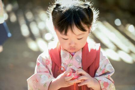 喜多院の七五三で会った女の子のお話 川越で七五三のロケーション撮影