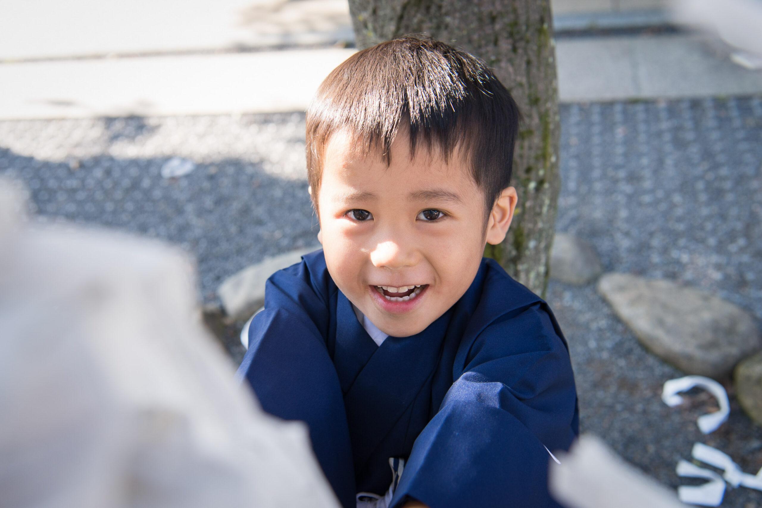 七五三出張撮影 東伏見稲荷神社